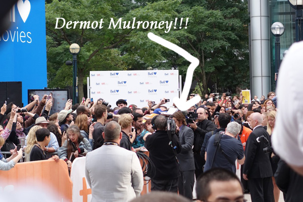 Dermot Mulroney at TIFF