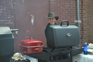 Royal LePage Charity Garage Sale Barbecue