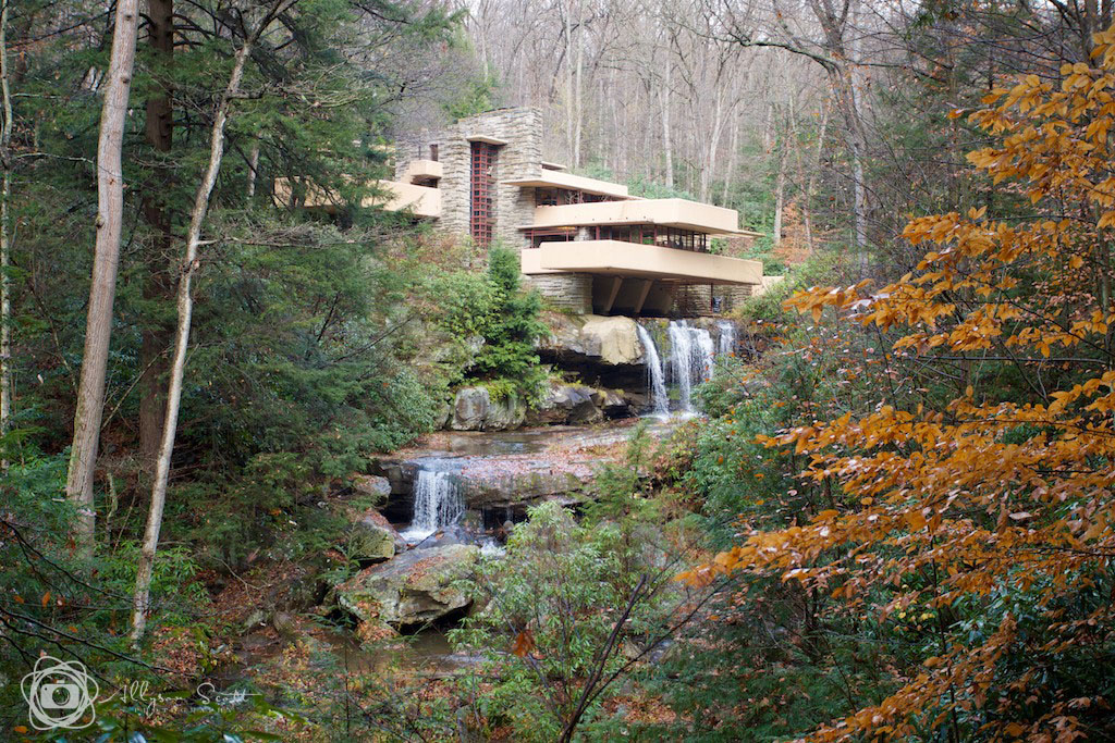 Fallingwater property in autumn, Mill Run, PA