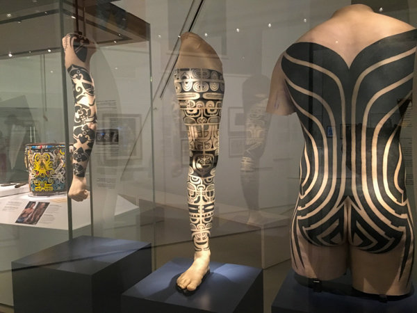 History of tattoos exhibit at the ROM © Allyson Scott