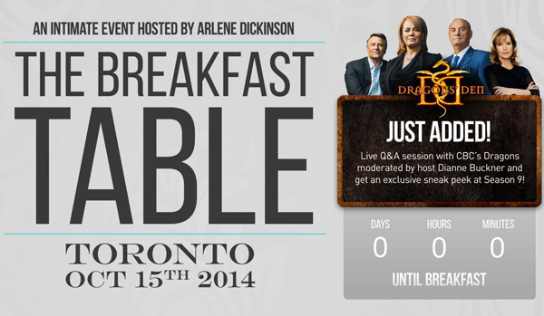 Breakfast Table Event